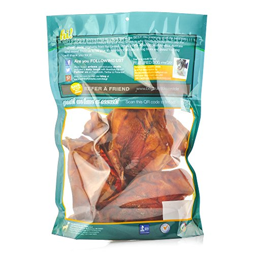 usa pig ears by best bully sticks 8 pack thick cut all natural dog treats. Black Bedroom Furniture Sets. Home Design Ideas