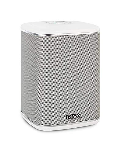 RIVA ARENA Wi-Fi Multi-room Speaker works with Google Assistant Voice Control & Optional Battery (Renewed) (Best Voice Assistant Speaker)