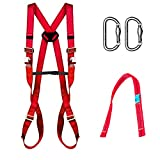 CGPK7 COMPLET.SAFETY FALL ARREST KIT: Harness with 2 link points + Lanyard webbing + 2 Karabiners. 031053001001