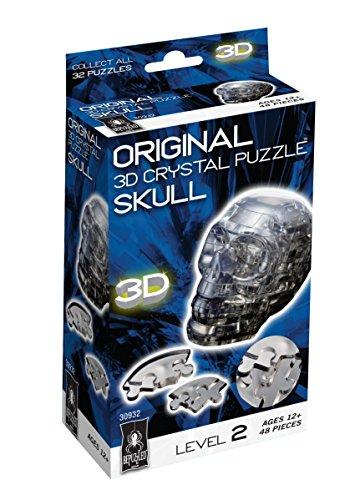 Original 3D Crystal Puzzle - Skull Black