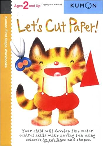Let's Cut Paper! (Kumon First Steps Workbooks): Kumon ...