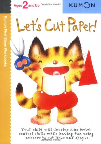 - Let's Cut Paper! (Kumon First Steps Workbooks)