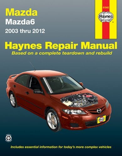 Haynes Repair Manuals Mazda6  03 13  61043