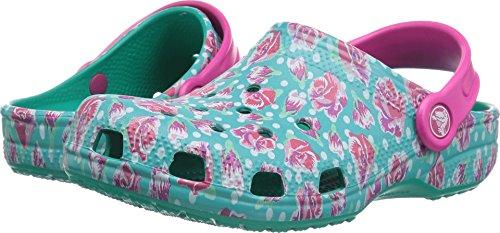 Crocs Classic Graphic Clog Kids, Tropical Teal 1