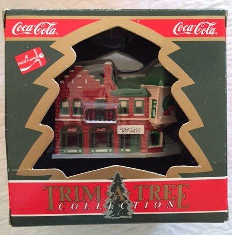 Coca Cola Trim-A-Tree Collection Coca-Cola bottling -