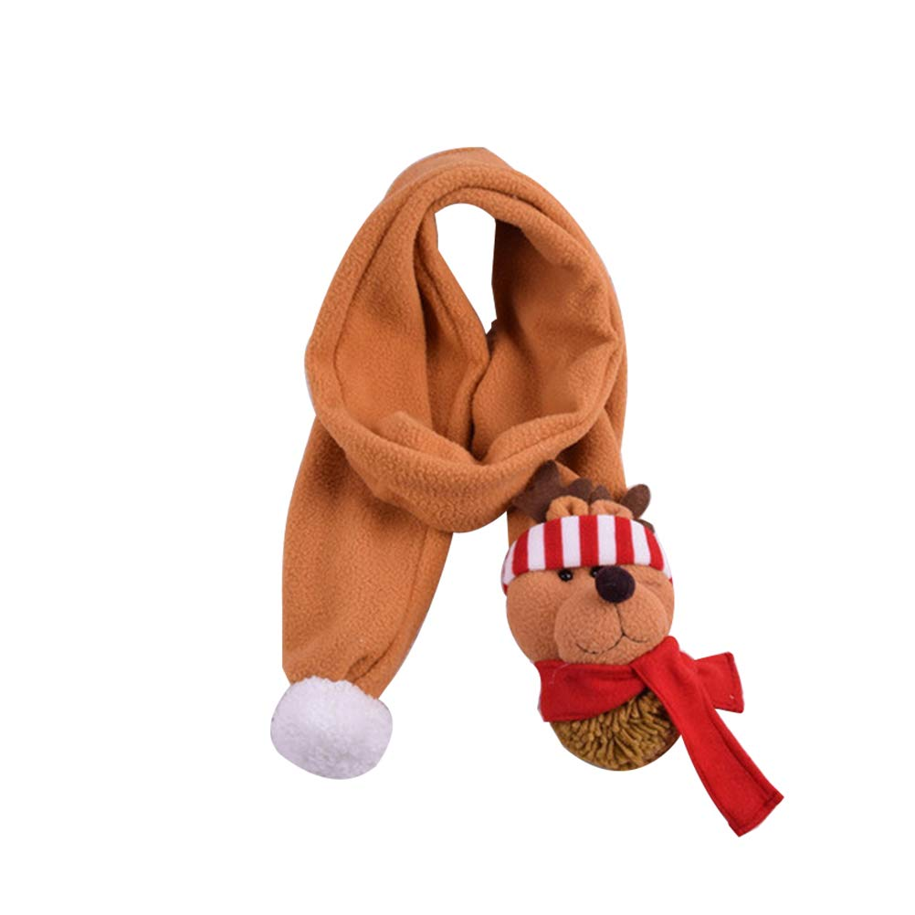 Christmas Scarf Wrap Christmas Gift for Kids Adults Deer