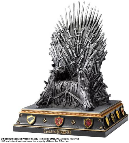 The Noble Collection Juego de Tronos Iron Throne Bookend