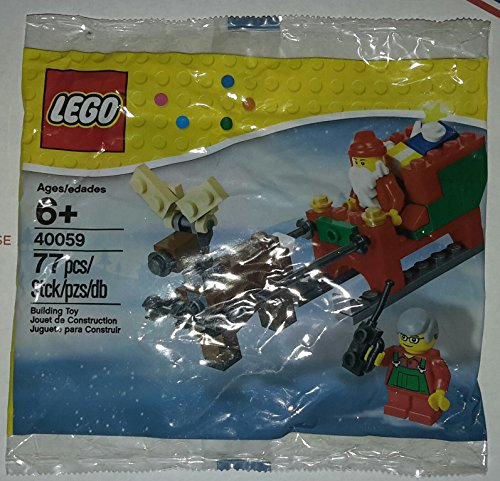 Lego 40059 Santa And His Sleigh 77 Pc  Holiday 2013