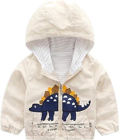 Little//Big Kid Toddler Baby Boys Girls Hooded Sweatshirt Full Zip Hoodie Jacket Coat