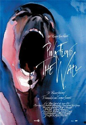 Pink Floyd The Wall Huge Vintage PAPER Movie Poster Measures