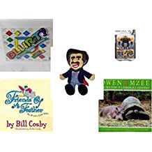 """Children's Gift Bundle - Ages 6-12 [5 Piece] - Blurt! The Webster's Game of Word Racing! Game - Mega Bloks Halo UNSC Offworld Cyclops Toy - BoxCar Willie Country Music Character Doll 16"""" - Friends o"""