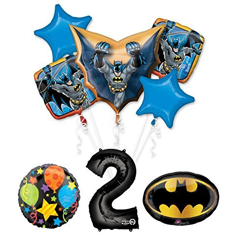 Mayflower Products The Ultimate Batman 2nd Birthday Party