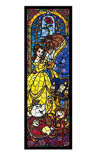 456 pieces jigsaw puzzle stained art Beauty And The Beast stained tight series (18.5x55.5cm)