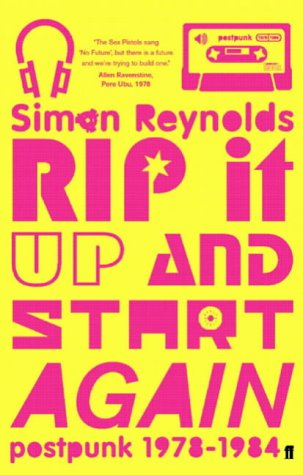 Image result for rip it up and start again book