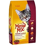 Meow Mix Hairball Control Dry Cat Food, 3.15 lb (Pack of 4)
