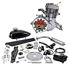 Finally back in stock! The newest version of the Zeda80 Firestorm Edition Triple 40 (40mm stroke, 40mm wide intake, and 40mm wide mount). Get the most recent model of the highly sought after JL Zeda 2 stroke bicycle engine kit. Why is the Zed...