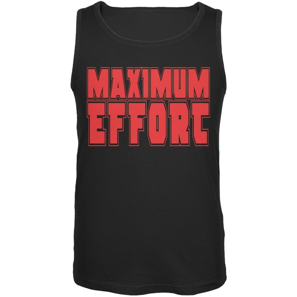 49c727806 Amazon.com: Old Glory Maximum Effort Black Adult Tank Top: Clothing