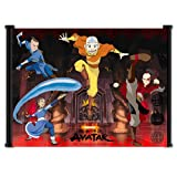 "Nickelodeon Avatar the Last Air Bender Cartoon Fabric Wall Scroll Poster (21""x16"") Inches"