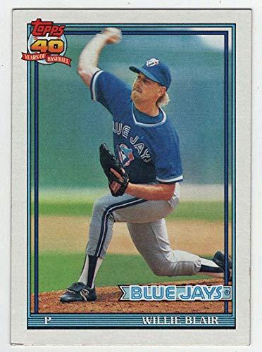 Willie Blair (Baseball Card) 1991 Topps # 191 NM/MT