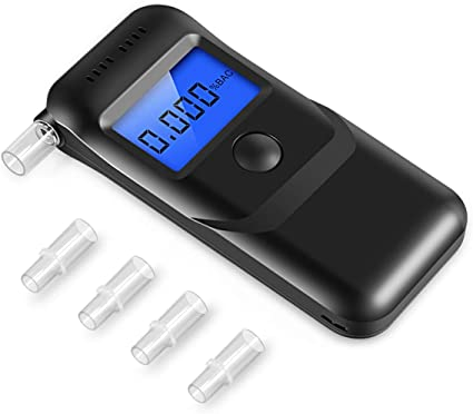 Portable Professional LCD Digital Breath Alcohol Tester Analyzer ILOE