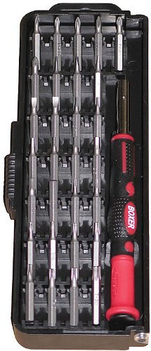 Boxer - Boxer 30 Pcs 4mm Precision Screwdriver Set - PK30