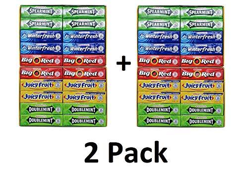 Chewing Gum Assortment 80 Packs