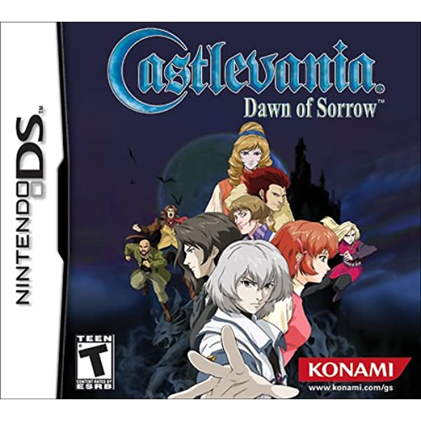 Castlevania Dawn Of Sorrow Artist Not Provided Video Games