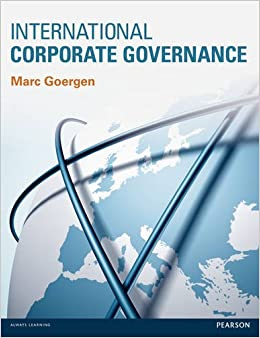 amazon corporate governance Buy corporate governance 5 by christine mallin (isbn: 9780198718024) from amazon's book store everyday low prices and free delivery on eligible orders.