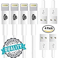 Trusted Cables (4 Pack) [Apple MFi Certified] Newest...