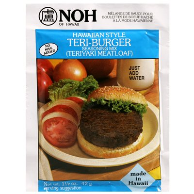 - NOH INC Sauce Mix Teri Burger, 1.5 OZ