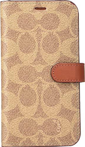 COACH Women's Phone Folio Khaki One Size (Coach Iphone Case)