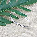 Inspirational Bracelets Funny Gift for Her Friend