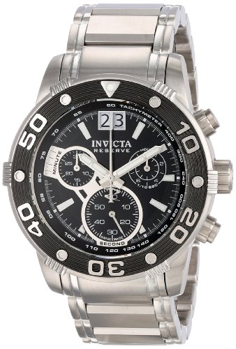 invicta-mens-0760-ocean-reef-reserve-chronograph-black-dial-stainless-steel-watch