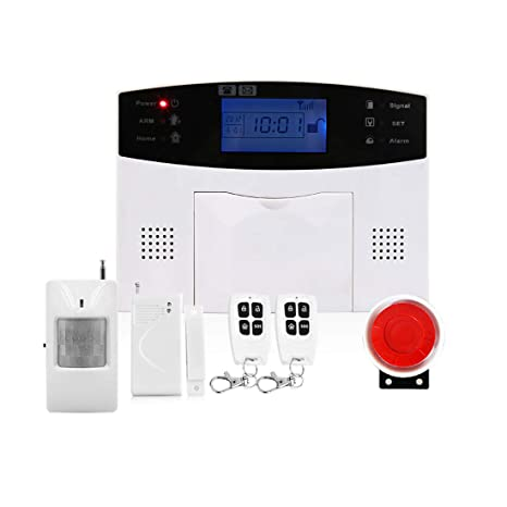 Zebuakuade Sistema de Alarma de Seguridad para el hogar gsm ...