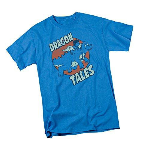 Flying High -- Dragon Tales Adult T-Shirt