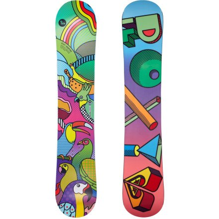 Roxy Inspire Btx Snowboard Girls Sz 128cm Btx Snowboard