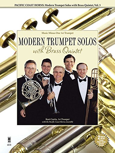 - Pacific Coast Horns - Modern Trumpet Solos with Brass Quintet, Vol. 3: Music Minus One 1st Trumpet Deluxe 2-CD Set