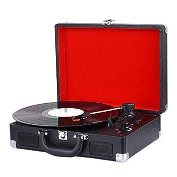 Reproductor de Discos de Vinilo, Tocadiscos de conversión con ...