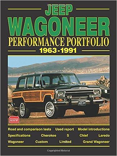 Jeep Wagoneer 1963 91 Performance Portfolio Rm Clarke