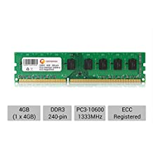 4GB PC3-10600 1333 MHZ ECC REGISTERED APPLE Mac Pro A1289 MacPro5,1 MEMORY RAM by CENTERNEX
