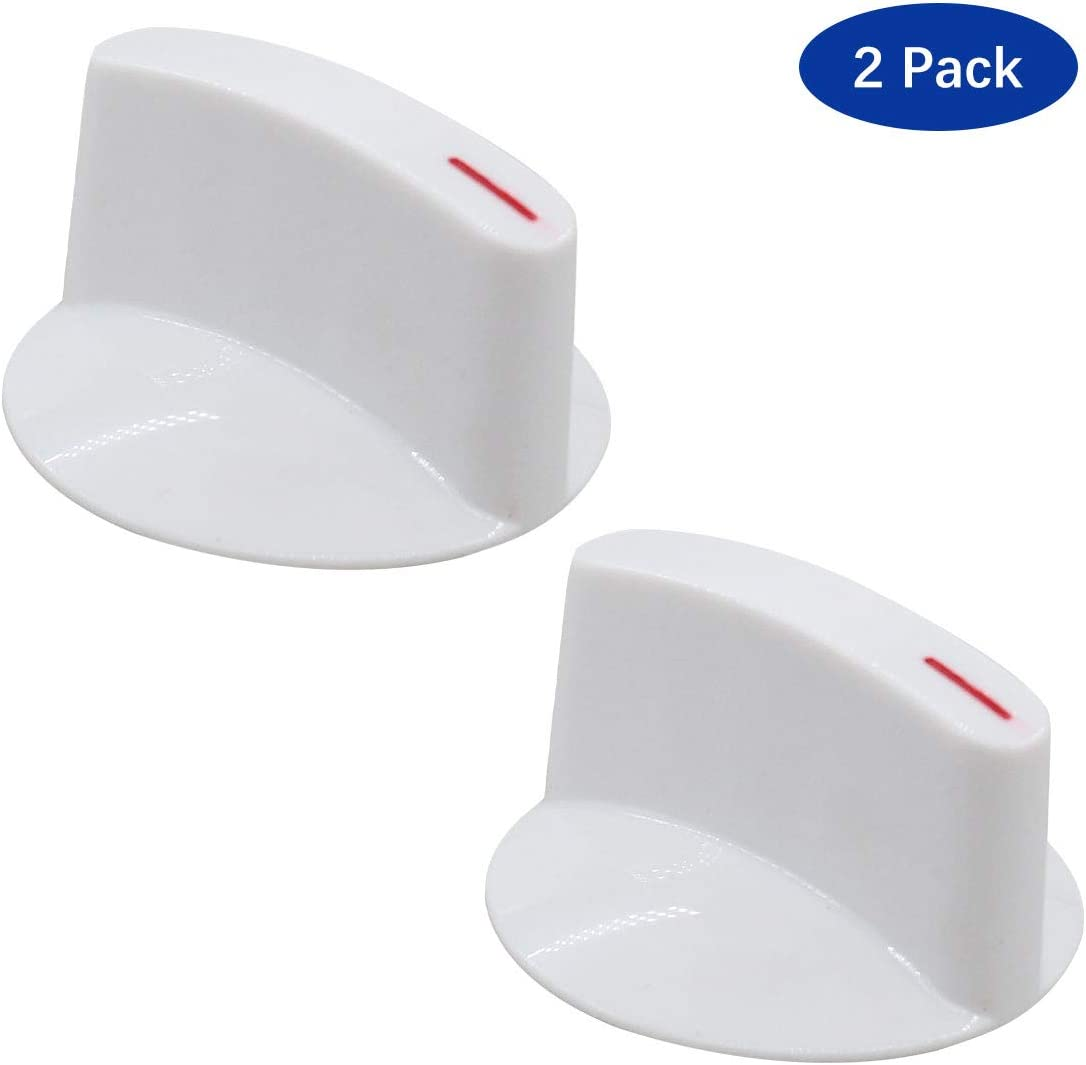 ApplianPar Pack of 2 WH1X2721 Dryer Washer Selector Timer Knob for GE Hotpoint Replace AP2044893 PS271094 WE01X10033