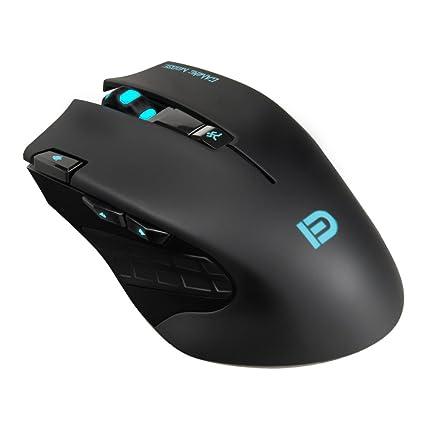 Amazon Com 2 4ghz Usb Wireless Gaming Mouse Povee Gm01 Ergonomic
