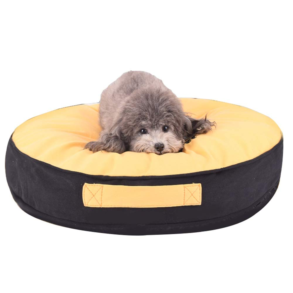 1003-M Pet Nest, Removable Dog Mat Small Dog Four Seasons Universal Small-Medium-Large Dog Kennel Dog Bed (color   1003-M)