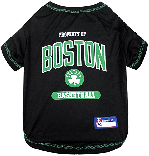 (NBA Boston Celtics T-Shirt for Dog, T-Shirt for cat, Size: X-Small. - A Sports Licensed Shirt for Any Occasion!)