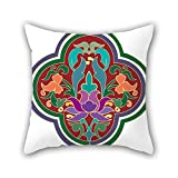 NICEPLW throw pillow covers of Bohemian,for bf,teens boys,play room,drawing room,son,shop 18 x 18 inches / 45 by 45 cm(both sides)
