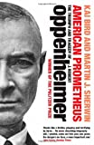 Front cover for the book American Prometheus: the Triumph and Tragedy of J. Robert Oppenheimer by Kai Bird
