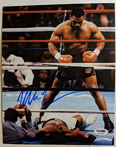 Mike Tyson - Legendary Boxer - Signed 8x10 Photograph in Mint Condition COA PROOF
