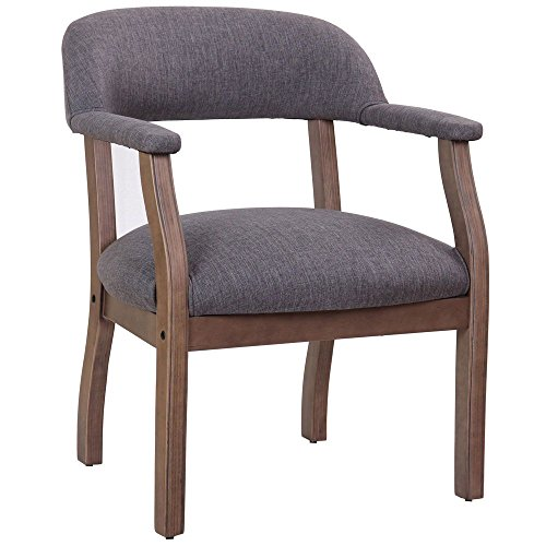 """Widmore Captain""""s Chair in Fabric with Driftwood Frame for sale  Delivered anywhere in USA"""