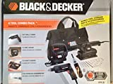 Black & Decker 4 Tool Combo Pack, 3/8 In. Drill, Jigsaw, Sander,screwdriver