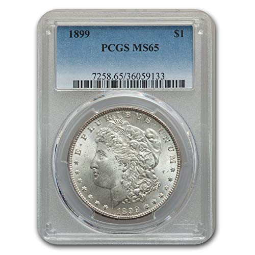 1899 Morgan Dollar MS-65 PCGS $1 MS-65 PCGS